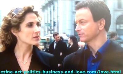Love in CSI NY, When It Started Between Gary Sinise (Mac Taylor) and Melina Kanakaredes (Stella Bonasera)