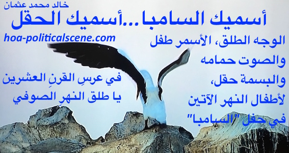 home-biz-trends.com/ping-and-rss.html - Ping and RSS: I Call You Samba, I Call You a Field couplet of poetry by poet and journalist Khalid Mohammed Osman on beautiful image of flapping bird.