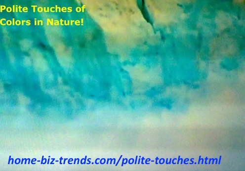 http://www.home-biz-trends.com/polite-touches.html - Polite Touches: of Colors in Nature at the Antarctic Circle.