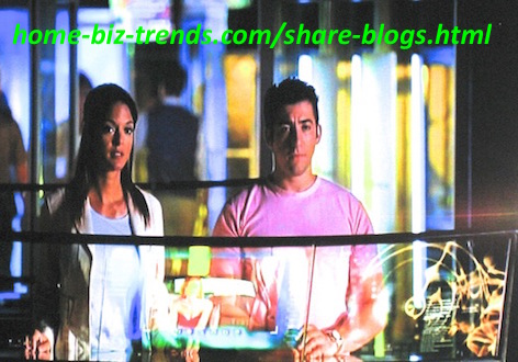 home-biz-trends.com - Share Blogs: Share the photo of Eva LaRue and Jonathan Togo on movie blogs, or pin it.