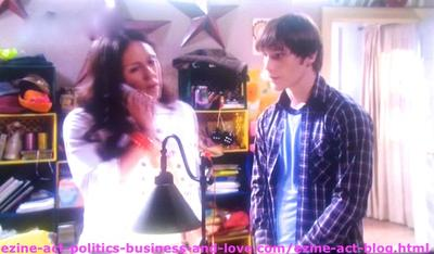 Melissa Sanders (Ashley Holliday) and her Boyfriend Adam (Nick Krause) Investigating to Know More Information about her Aunt in Hollywood Heights.