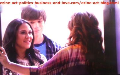 Melissa Sanders (Ashley Holliday) and Her Boyfriend Adam (Nick Krause) When They Arrived and Her Aunt Opened the Door.