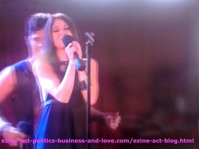Eddie Duran (Cody Longo) Danced and his Love Loren Tate (Brittany Underwood) Did the Duet Singing One of his New Songs with him in Hollywood Heights.