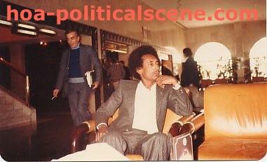 The publisher of the Ezine Act, Journalist Khalid Osman at Hotel Hyatt Regency, Kuwait.