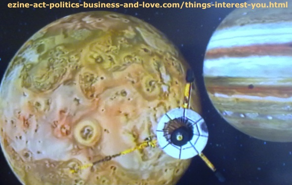 Things Interest You, Such as Good Information about Jupiter, the Moon, Stars and Universe.