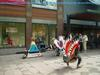Swedish Streets Exhibiting Performed Arts, Native Americans' Dance Music, Orebro.