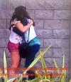 Loren Tate (Brittany Underwood) Hugging Her Best Friend Melissa Sanders (Ashley Holliday) in the Hospital.