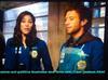 Love United Angela Montenegro, as Michaela Conlin and T. J. Thyne, as Dr. Jack Hodgins in Bones TV Series.