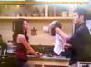 Eddie Duran (Cody Longo) While Helping Loren Tate (Brittany Underwood) at Her Kitchen and Discovering a New Musical Instrument in Hollywood Heights.