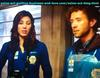Love Connects Michaela Conlin and Dr. Jack Hodgins in Bones TV Series.