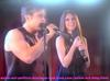 Eddie Duran (Cody Longo) and his Love Loren Tate (Brittany Underwood) Performing the Duet in Hollywood Heights.