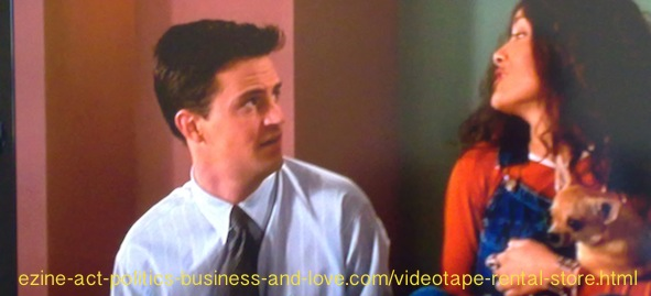 Videotape Rental Store: Fools Rush In, Selma Hayek, Matthew Perry.