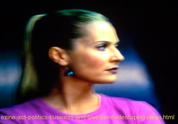 Videotaping Ideas: Emily Procter, Calleigh Duquesne, CSI Miami
