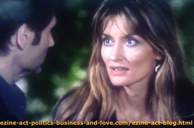 The Crazy Husband, Hank Moody (David Duchovny) and his Wife Kern (Natascha McElhone) When She Tried to Explain the Real Love and Responsibilities of a Responsible Dad in Californication.