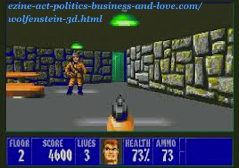 Wolfenstein 3D, at the Ezine Act