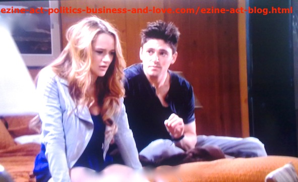 Adriana Masters (Haley King) During Love Problems with Phil Sanders (Robert Adamson)