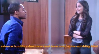 Hollywood Heights: Brandon Bell (Jake Madsen) Trying to Advise Kelly (Yara Martinez) to Calm Down After Attempting Love Affair with Him, Although She is Friend of His Wife Traci Madsen (Shannon Kane)