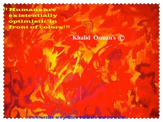 Raoul Dufy: Humans are Existentially Optimistic in Front of Colors. Khalid Osman Says.