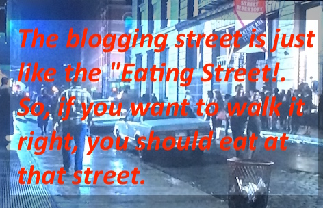home-biz-trends.com - Blog It at the eating street, taking for example any food recipe as your theme.