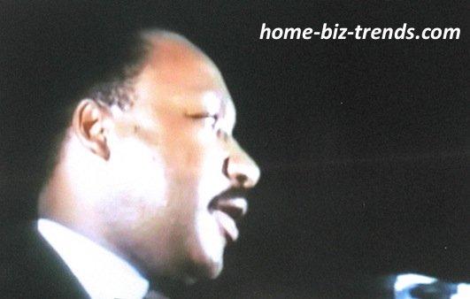 home-biz-trends.com - Blogger: Martin Luther King, Jr.