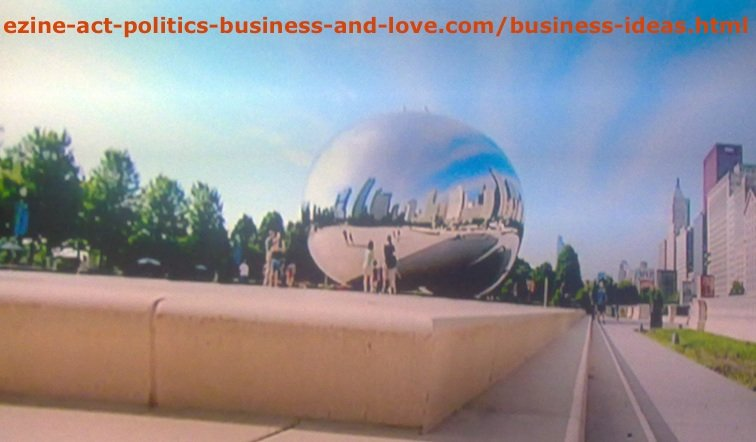 Business Ideas in One of Anish Kapoor's Amazing Sculptural and Architectural Artworks.