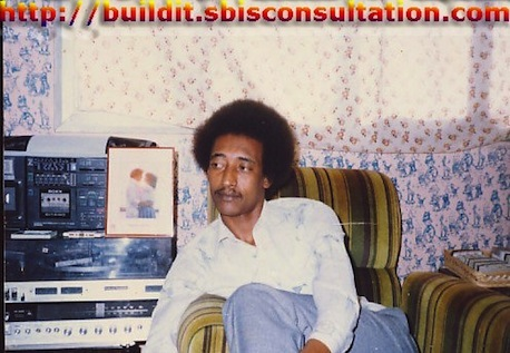 Career and Skills Articles: Journalist Khalid Osman while writing career and skills articles at his office.