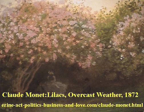 Claude Monet, French Paintings, Lilacs Weather 1872, Paris, France.
