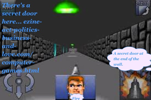 Wolf Computer games at the Ezine Act
