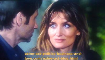 Hank Moody (David Duchovny) and His ex-Wife Kern (Natascha McElhone) Discussing His Love Affairs with Teens in Their Daughter's Age.
