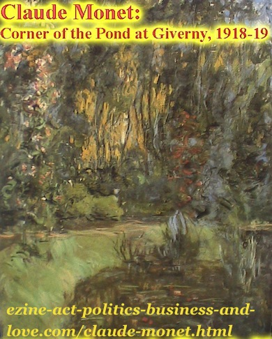 Corner of the Pond at Giverny, Claude Monet, 1918-19.
