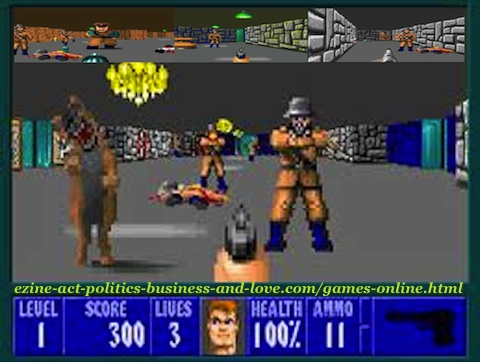 Games Online: Don't play PC shooting GAMES online.