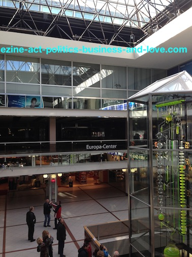 Ezine Acts Advertising: Europa Centre, Berlin, Germany.
