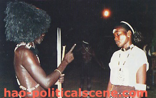 Ezine Act's African Art: Sudanese African Folkloric Art in the South Sudan.