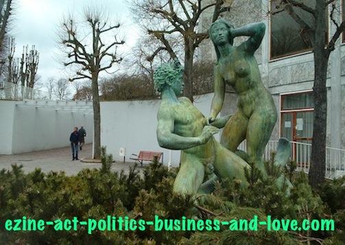 Ezine Acts Art and Culture: Danish Sculpture, Aarhus, Denmark.