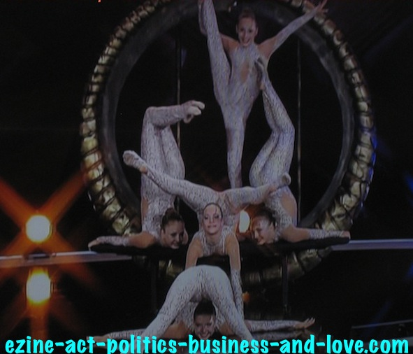 Ezine Acts Art Essence: The Essence of Art in the German Acrobats.