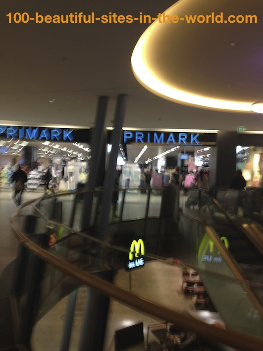Ezine Acts Business: Primark and McDonald's in Walther-Schreiber Platz, Berlin, Germany.