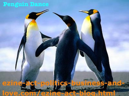 Ezine Acts Dance: Penguin Dance. Penguin Dance Could Be A New Innovational Dance!
