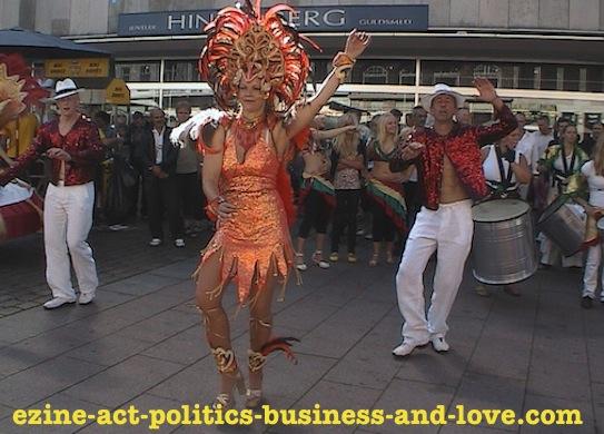 Ezine Acts Dance: Samba Dance.