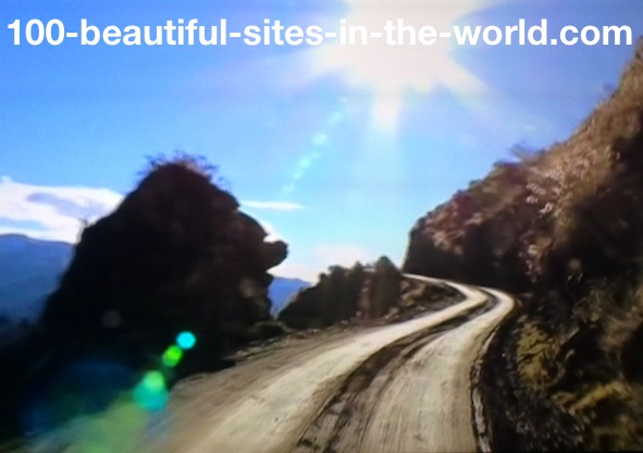 Ezine Acts Galleries: The Road Breaking Up and Down to the Rainforest.
