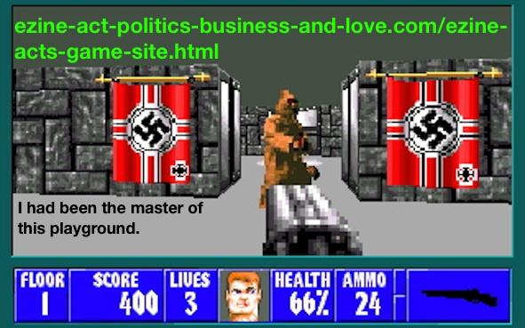 Ezine Acts Games: Dark Wolfenstein 3D, Dark Wolf 3D.