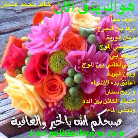 home-biz-trends.com/i-dont-know-what-my-ex-wants.html - Love in poet Khalid Mohammed Osman's poetry Your Love is beating Now is for the nation.