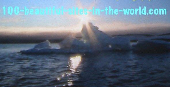 Ezine Acts Photography: Arctic Circle, Open Ocean Ice Melting.