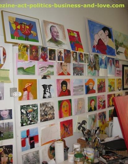 Ezine Acts Sell Paintings Online: Paintings shop, Aarhus, Denmark.