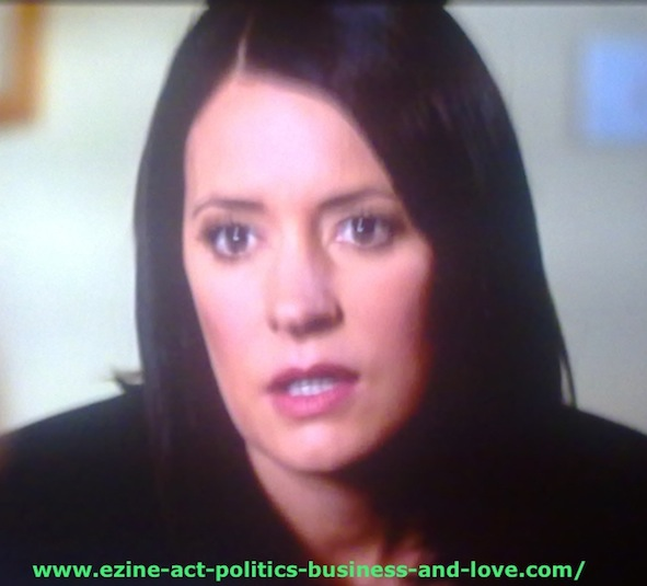 Ezine Acts Video Shows to Entertain, or... Learn - Paget Valerie Brewster, Emily Prentiss on Criminal Minds.