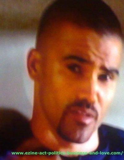 Ezine Acts Video Shows: Shemar Franklin Moore, Derek Morgan, Criminal Minds.