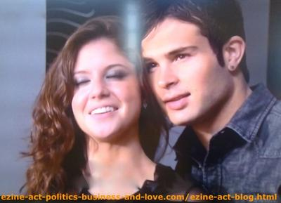 Loren Tate and Eddie Duran Getting Close to Each Other, Feeling Love in Hollywood Heights.