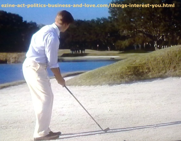 Things Interest You in Golf