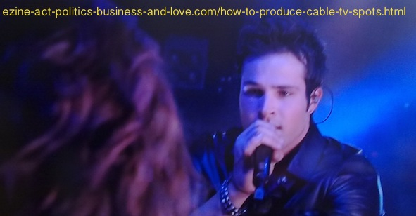 How to Produce Cable TV Spots: Hollywood Heights, Eddie Duran Singing.