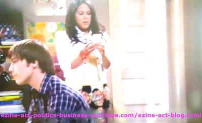 Melissa Sanders (Ashley Holliday) and Adam (Nick Krause) are Two Nice and Clever Kids in Hollywood Heights.