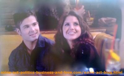 Loren Tate and Eddie Duran in a Place Where Love is in the Air in Hollywood Heights.